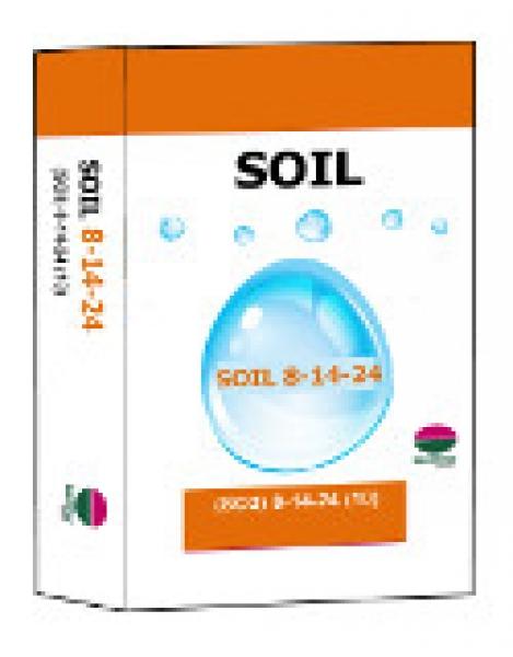 Medifer Soil 8:14:24 + 10 SO3 + 1,5 Mg